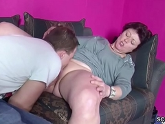 He Caught German Step-Mom Masturbate take a rest His First Have a passion - MyFacePorn.com