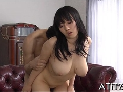 Wicked toying with busty japanese