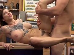 Big Tiitty Harlow Harrison Bent Over Desk In Da Shop