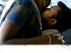 Indian Couples having secret lovemaking dominant a break faith with