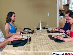 Spectacular Housewife (melissa riley) Skulduggery Surrounding Hard Dealings Scene clip-20