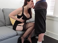 INCREDIBLE BLOWJOB FROM A Hawt CAM Partition