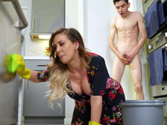 Cherie DeVille acquires fucked by will not hear of stepson doggystyle