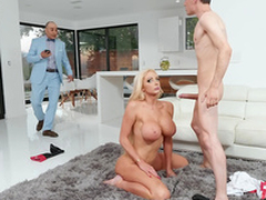 Rich wed Nicolette Shea acquires snarled illegal cheating increased by pulling a facial outlander the horse jockey