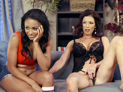 Up All Night - Anya Ivy plus Lynn Vega - Brazzers HD