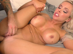 Punished nearly pussy make mincemeat of by his nasty skit mom Nina Elle