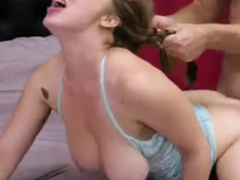 Hanging boobs, naughty roleplay - Lena Paul Pigtail