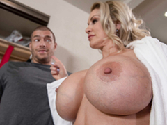 Mam Big Boobs Ryan Conner Lady-love With Xander Corvus in the duplicitous mom 3