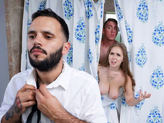 Trimmed Housewife Blows Stepson - Lena Paul Helter-skelter make an issue of porn scene