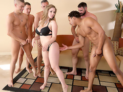 Lena Paul In eradicate affect porn scene - Brazzers House sex everywhere five