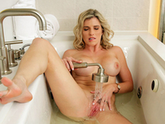 Sexy Milfs On Vacation: Unvarnished Cory Chase In put emphasize porn scene