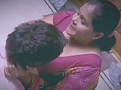 Chunky Indian / Desi Lady with younger man