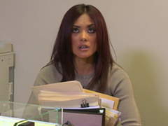 Kaylani Lei Blows this Fellow and Fucks here the Office!