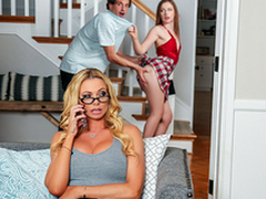 Sex Therapy With Stepmom Featuring Brianna Banks with the addition of Danni Rivers - Reality Kings HD
