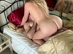 Stepmom has sexual intercourse with stepson to get him approachable for cram - Erin Electra