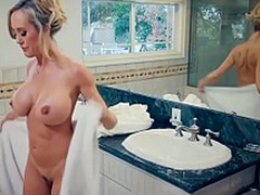 Brazzers - Maw Got Boobs -  Hands-On Learning chapter starring Brandi Love and Jordi El Niño