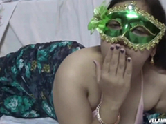 Indian Juicy Complain Velamma Bhabhi Getting The brush Big Bristols Fondl