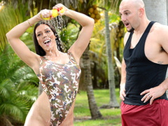 Pornstar Bootcamp Starring Rachel Starr increased by JMac - Brazzers HD