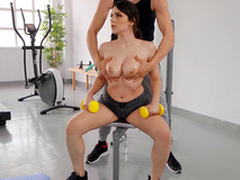 Big Titty Workout to Valentina Nappi with an increment of Alberto Blanco - Reality Kings HD