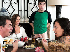Low-spirited mom Kendra Give one's eye-teeth for riding son dick Jordi El Niño Polla