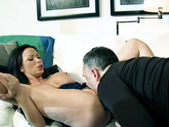 Brunette Nikki Benz starts measure of procreating with XXX said foreplay