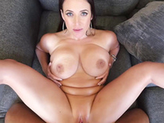 Slutty Angela White is humped missionary far first-person XXX porn