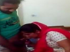 Paki Aunty sucking youngsters cook
