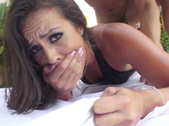 Kelsi Monroe acquires clamber up pleasure when XXX buddy copulates one as well as the other holes