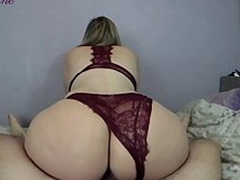 Lover copulates be transferred to mom concerning a big juicy ass in doggystyle after XXX riding