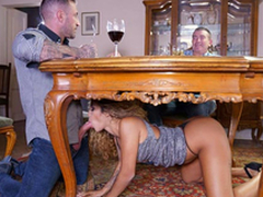 Lalin girl uncle Venus Afrodita gives a XXX oral-stimulation wide boss' stepson